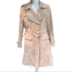 Calvin Klein Beige Trench Coat limited edition MED